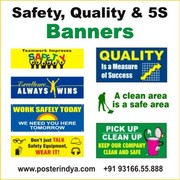 Safety & 5s Banners