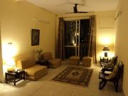 One Lady Flatmate reqd ( single rm , furnished flat in DLF Phase V