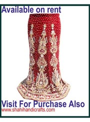 wedding Fashion bridal Lehenga on rent