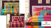 Buy Bed Sheets Online & Get Flat 15% OFF at Swayam India