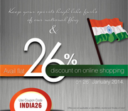 Shop Online at Swayam India & Get 26% OFF- Use INDIA26