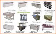 KITCHEN EQUIPMENTS FOR HOTEL & RESTAURANT. INDUSTRIAL CANTEEN KITCHEN