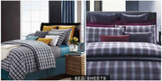 Buy Double Bed Sheets Online in Pure Cotton at Home By Freedom