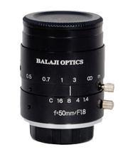 50MM MACHINE VISION MEGA PIXEL CAMERA LENS-BALAJI OPTICS