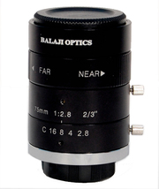 75MM MACHINE VISION MEGA PIXEL CAMERA LENS--BALAJI OPTICS INDIA