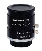 25mm mega pixel camera lens--BalaJi Optics india