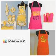 Buy Aprons Online in Impressive Designs & Colors- Swayam India