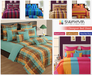 Buy Bed Sheets Online India in Modish Color Patterns at Swayam India