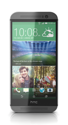 HTC The New HTC One (M8)  (Silver-66682)