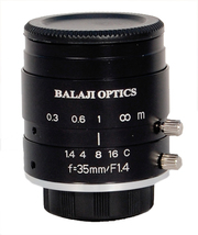 35 mm machine vision lenses (BMT-1435D) balaji optics in india