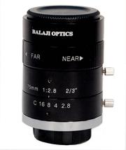 75 mm machine vision lenses (BMT-2875D) balaji optics in india