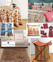 Get Upto 25% OFF on all Home Furnishing Products- Home By Freedom