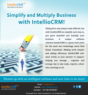 Lead Management CRM Software for Real Estate Agent.