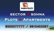 Supertech Sector 2 Sohna @ 9555077777
