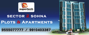 Supertech Apartment & Plots Sector 2 Sohna @ 9555077777