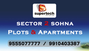 Superetch Apartments in Sohna @ 9555077777