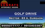 Sunrays Heights Sector 63a Gurgaon @ 8468OO33O2