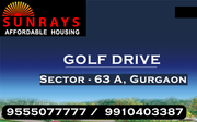 Sunrays Heights Affordable Hosuing Sector 63a Gurgaon @ 8468003302