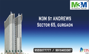 M3M St. Andrews Golf Residences  Sector 65 Gurgaon @ 9555077777