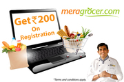 Register with meragrocer.com and Get Rs 200