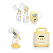 Medela breast pumps supporting breastfeeding mothers and the newborns