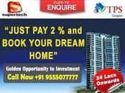 Supertech  AzaliyaSec 68 Gurgaon Call 9555O77777
