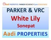 White Lily Sonepat 9350193692 2/3/4BHK Sector 8 Sonepat