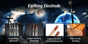 Alfredkim Earthing Electrode for Electrical Safety