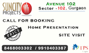 Suncity Avenue 102 Affordable Housing Gurgaon @ 8468003302