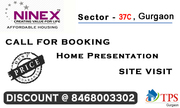 "NINEX- RMG ResidencyLaunch New Project  ""Affordable Hosuing"" Sector37C"