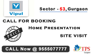Vipul Aarohan Gurgaon @ 9555077777