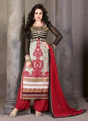Buy Palazzo Salwar Suits Shopping Online at Riafashions