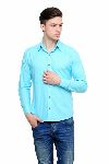 Buy Aqua Solid Formal Shirt