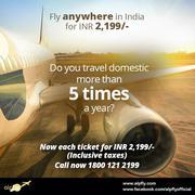 Flight Deals in India - Rs. 2199 Per Ticket