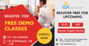 Free Demo Classes for IELTS,  PTE,  Spoken English