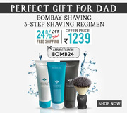 Bombay Shaving Company 3-Step Shaving Regimen