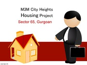 M3M Heights Sector 65 Gurgaon - 2, 3 BHK Premium  Apartments / Flats