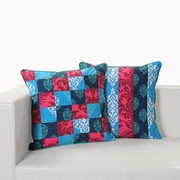 Get Patchwork Cushion Covers Online,  Made in Beautiful Design & Colors