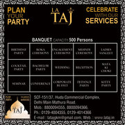Best Party Hall in Faridabad