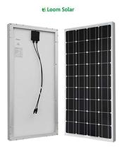 Loom solar panel 120 watt - 12 volt mono crystalline