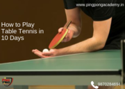 Table Tennis Classes Near Me