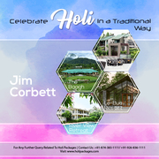 Holi Package in Corbett