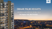 Summer Slash offers at Emaar Palm Heights in Gurgaon