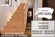 Color Step Riser- Manufacturer of Stair Riser & Floor Tiles from Morbi