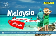 Book Malaysia Honeymoon Package from India at the best price