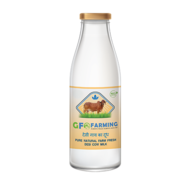 Pure & Organic Cow Milk in Gurgaon | GFO  Farming