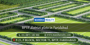 BPTP District Plots in Faridabad | +91-9873-189-990