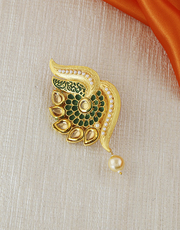 Buy for saree brooch design at affordable price at Anuradha Art Jewell