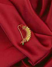 Shop for Maharashtrian Bridal Nath Design at Anuradha Art Jewellery