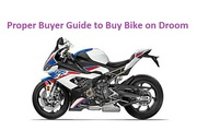 Proper Buyer Guide to Buy Bike on Droom